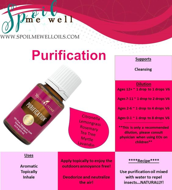 purification essential oil uses and benefits