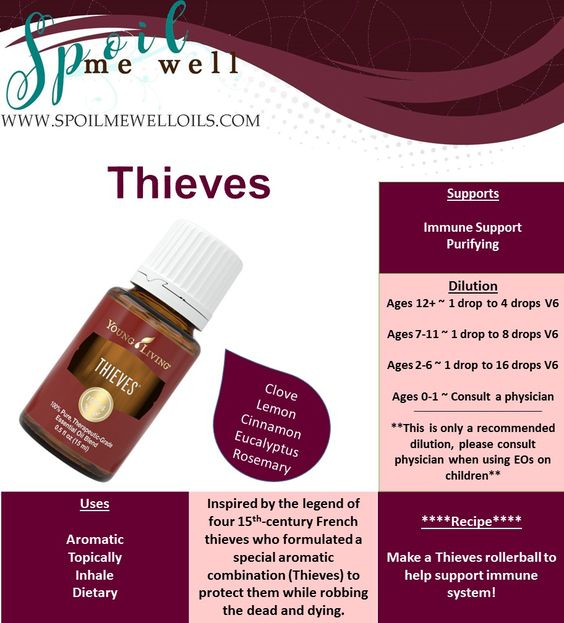 Benefits of thieves oil